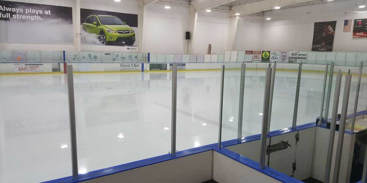 Sherwood Ice Rink Interior, Sherwood