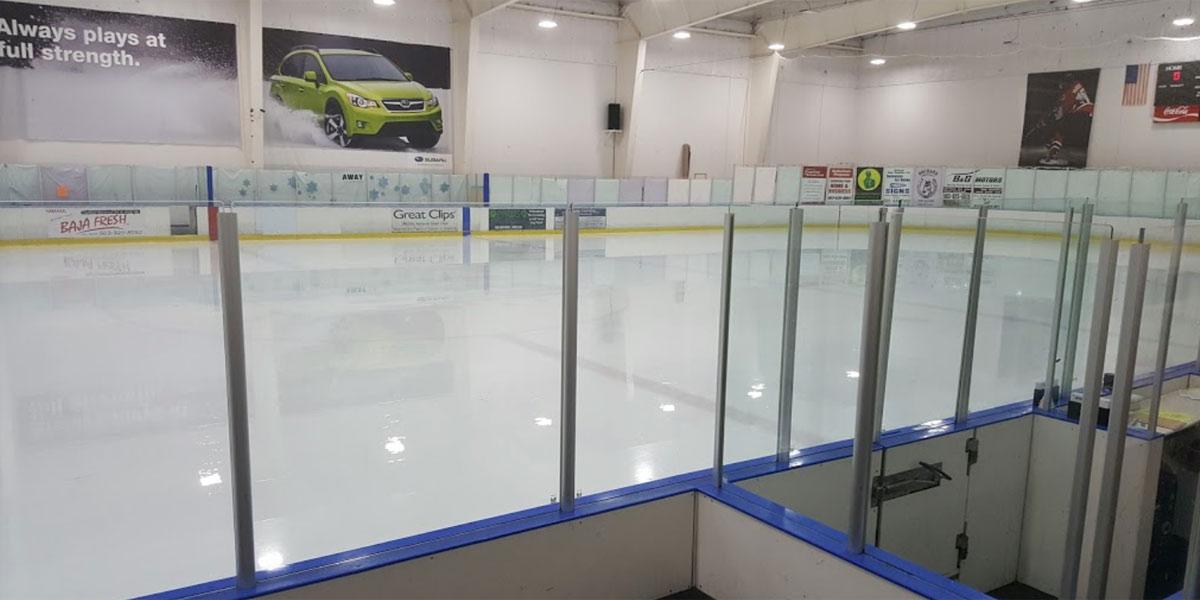Sherwood Ice Rink Interior, Sherwood