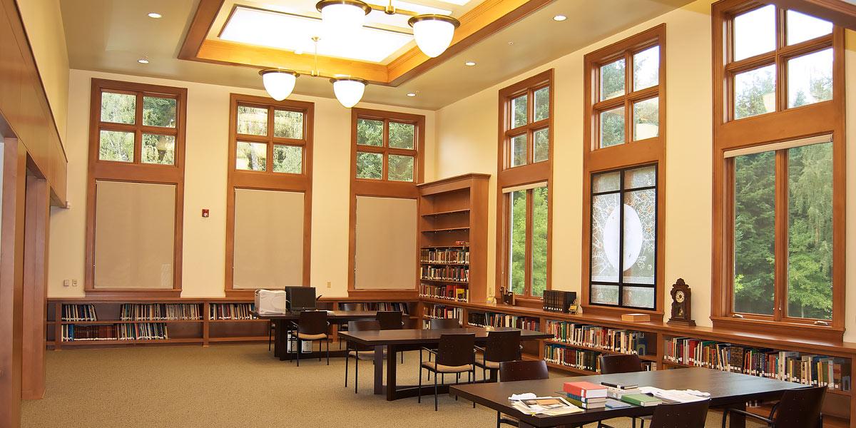 SNJM Heritage Center Library
